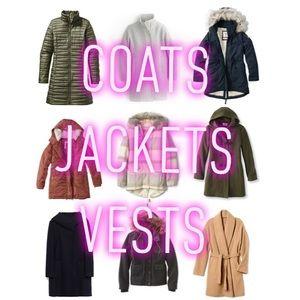Jackets & Blazers - •Coats, Jackets, & Vests •